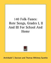 Cover of: 140 Folk-Tunes |