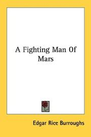 Cover of: A fighting man of Mars