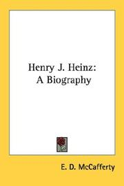 Cover of: Henry J. Heinz