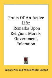 Cover of: Fruits Of An Active Life