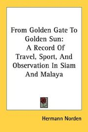 Cover of: From Golden Gate to golden sun