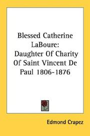 Cover of: Blessed Catherine LaBoure