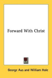 Forward with Christ by George Aus