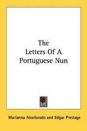 Cover of: The Letters Of A Portuguese Nun