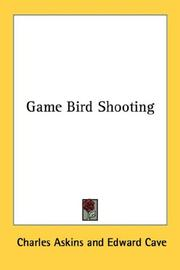 Cover of: Game Bird Shooting