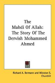 The Mahdi of Allah by Richard A. Bermann