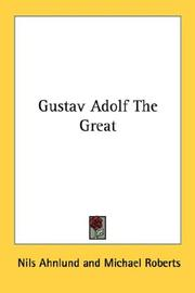Cover of: Gustav Adolf the great