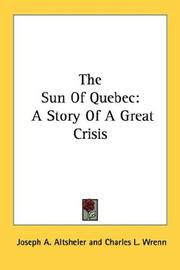 Cover of: The Sun Of Quebec