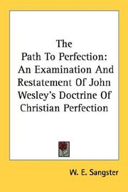 Cover of: The Path To Perfection | W. E. Sangster