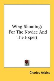 Cover of: Wing Shooting