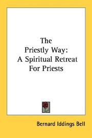 Cover of: The Priestly Way