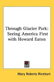 Cover of: Through Glacier Park