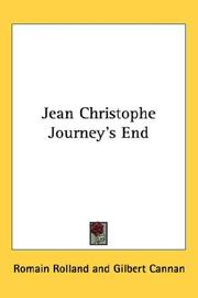 Cover of: Jean Christophe Journey