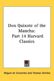 Cover of: Don Quixote of the Mancha | Miguel de Cervantes Saavedra