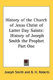 Cover of: History of the Church of Jesus Christ of Latter Day Saints | Joseph Smith, Jr.