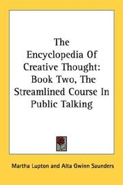Cover of: The Encyclopedia Of Creative Thought |