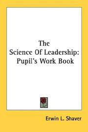 Cover of: The science of leadership