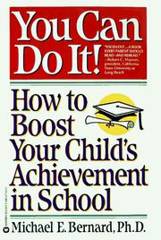 Cover of: You can do it!
