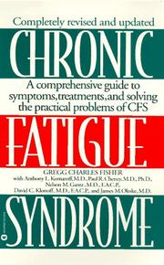 Cover of: Chronic fatigue syndrome | Gregg Charles Fisher
