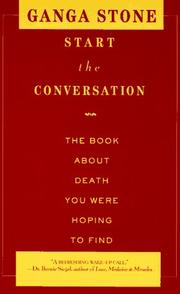 Cover of: Start the conversation