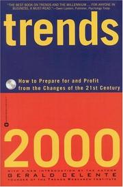 Cover of: Trends 2000 | Gerald Celente