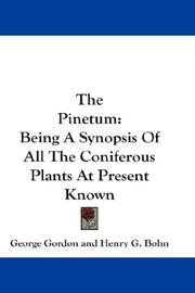 Cover of: The Pinetum | George Gordon