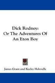 Cover of: Dick Rodney | James Grant