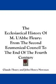 Cover of: The Ecclesiastical History Of M. L