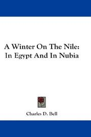 Cover of: A Winter On The Nile | Charles D. Bell