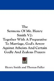 Cover of: The Sermons Of Mr. Henry Smith V2