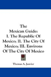 Cover of: The Mexican Guide
