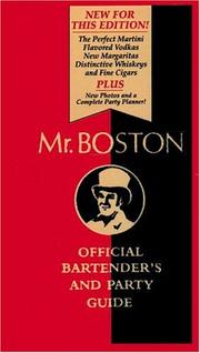 Cover of: Mr. Boston | Renee Cooper