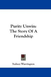 Cover of: Purity Unwin | Sydney Warrington
