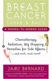 Cover of: Breast Cancer, There and Back