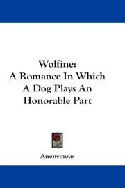 Cover of: Wolfine | Anonymous