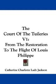 Cover of: The Court Of The Tuileries V1