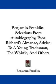 Cover of: Benjamin Franklin