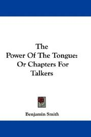 Cover of: The Power Of The Tongue