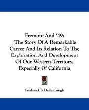 Cover of: Fremont And '49