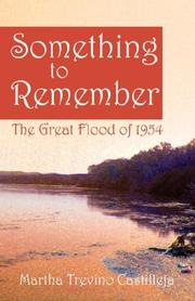 Cover of: Something to Remember | Martha Trevino Castilleja