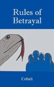 Cover of: Rules of Betrayal | Cobalt