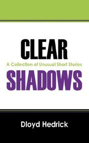 Cover of: Clear Shadows