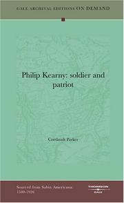 Cover of: Philip Kearny | Cortlandt Parker