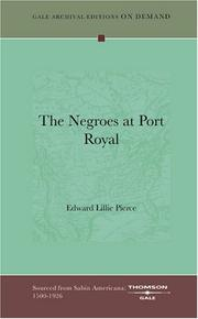 Cover of: The Negroes at Port Royal