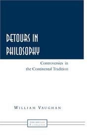 Cover of: Detours in Philosophy