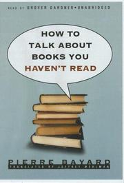 How to Talk about Books You Havent Read