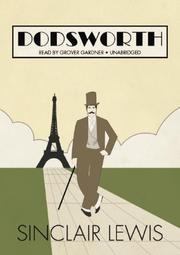 Cover of: Dodsworth | Sinclair Lewis