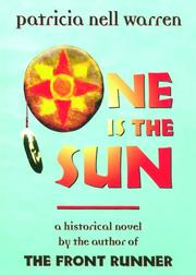 Cover of: One is the Sun