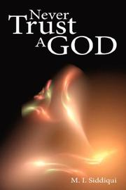 Cover of: Never Trust A God