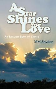 Cover of: A Star Shines For Love | MM Snyder